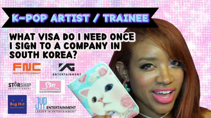 K-pop Artist Trainee Visa in South Korea